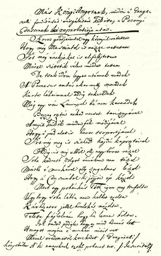 f735e494a1 37. KÓNYI LEVELE ÁNYOSHOZ. A pannonhalmi Benedek-rendi levéltárban őrzött  eredetiről.